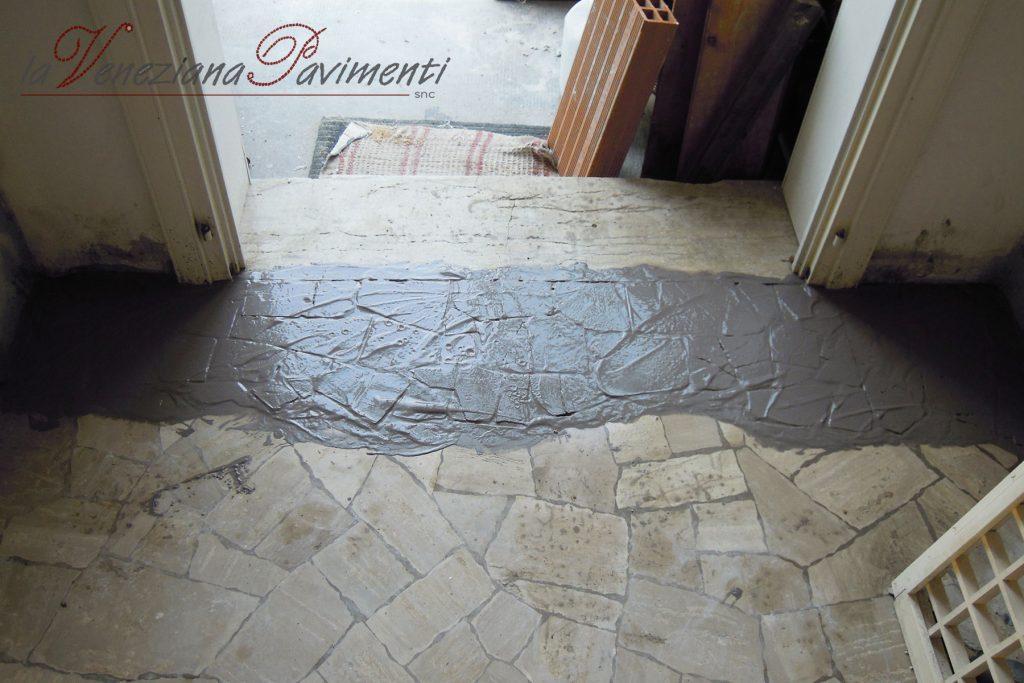 Restauro pavimenti alla veneziana e palladiane la veneziana